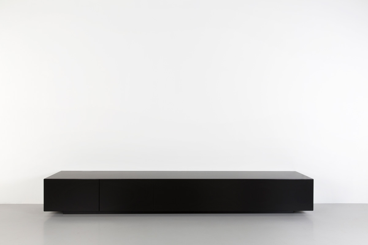 Lowboard Tv Kast.Lowboard Halm 250 Zwart Kopen Gratis Verzending Tv Kast Nl