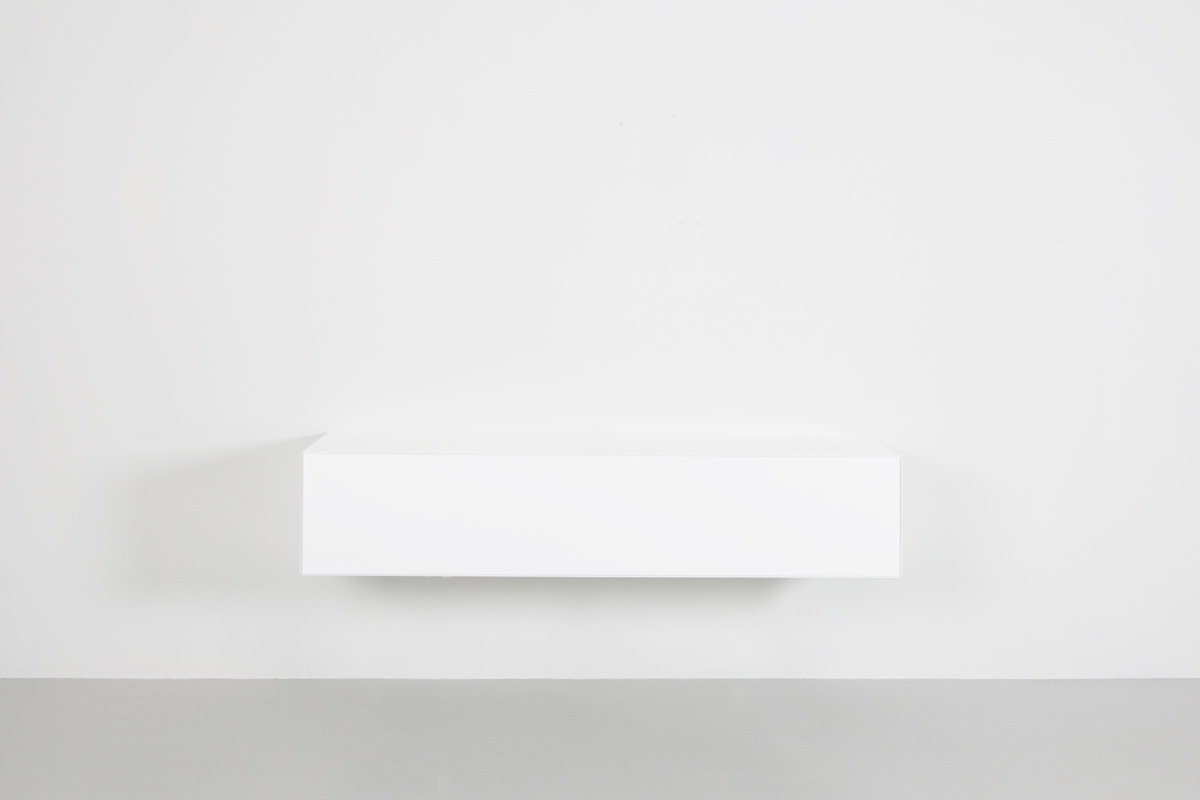 Norm 120 hoogglans wit Tv Meubel