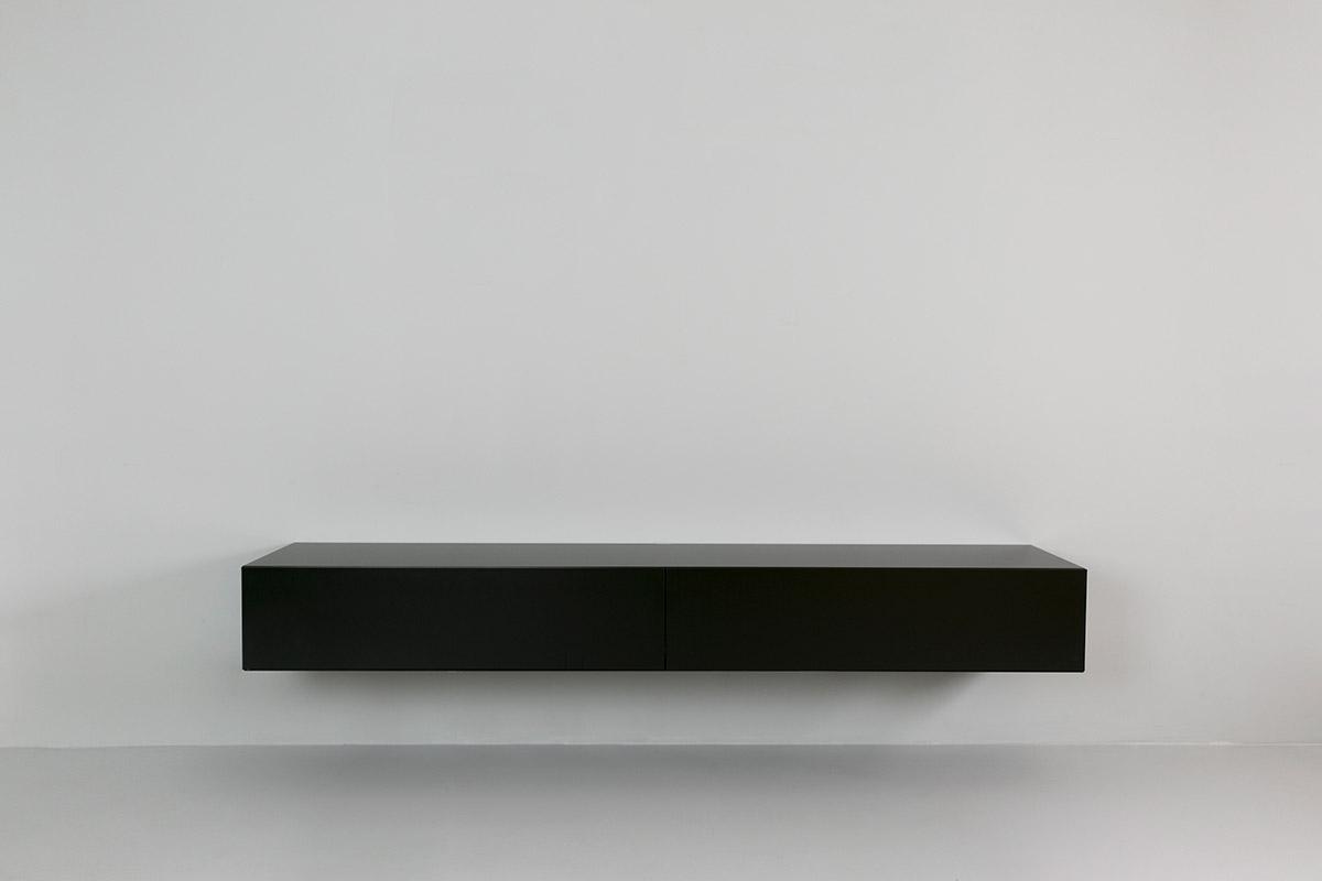 Lowboard Tv Kast.Norm 200 Zwart Kopen Gratis Verzending Tv Kast Nl